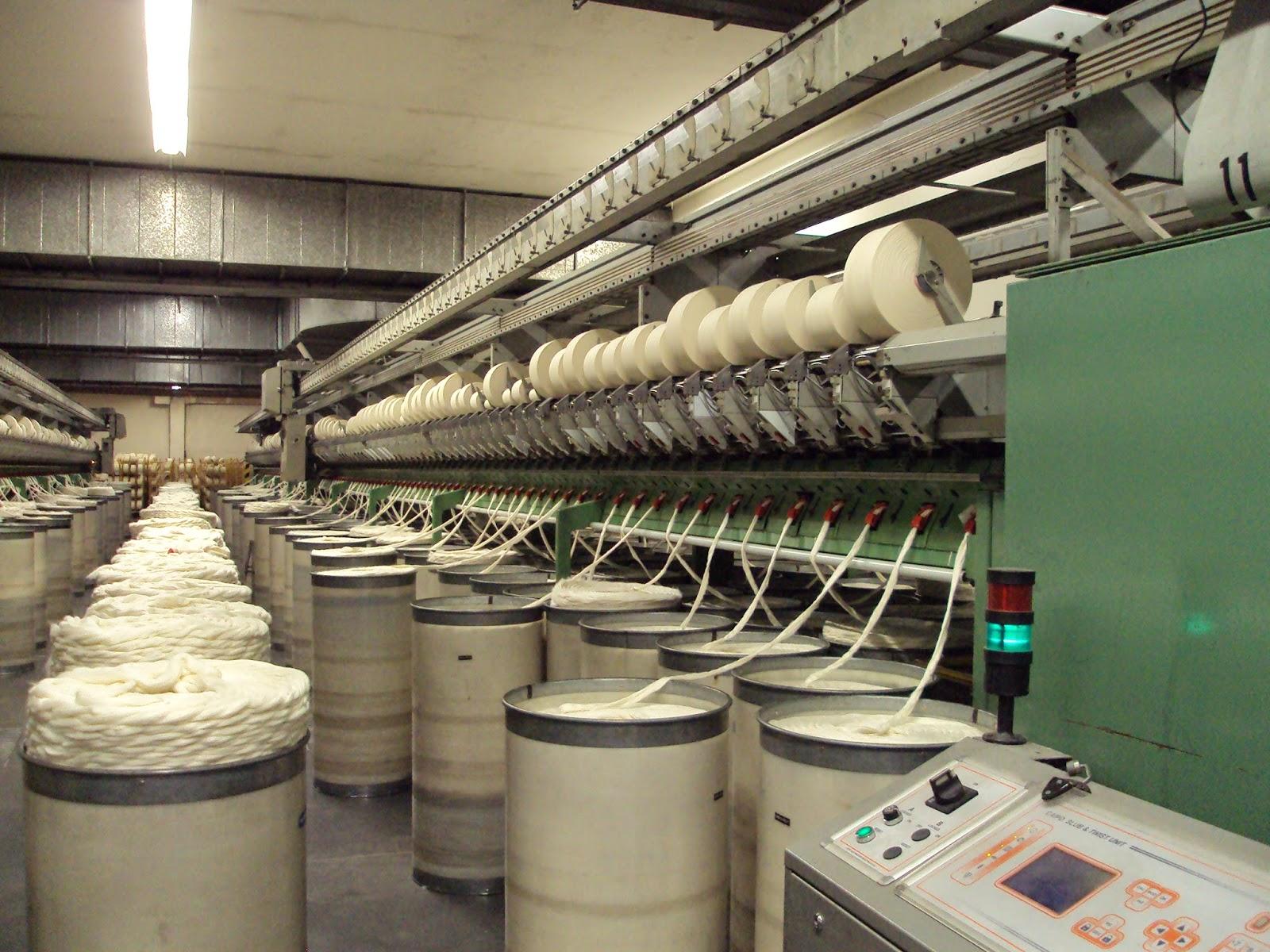 ¿Y tú conoces los procesos utilizados en la fabricación el hilo?